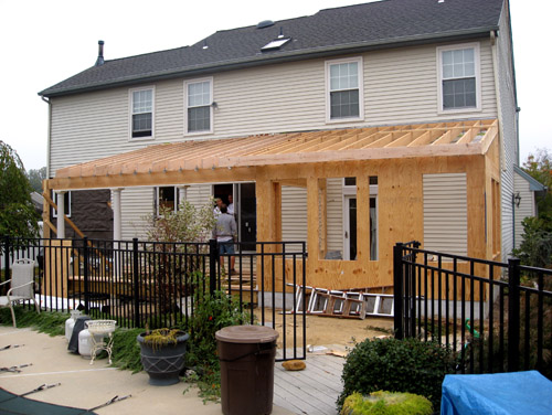 House Roof Addition Designs: Deck Designs, Patios, Building A Deck